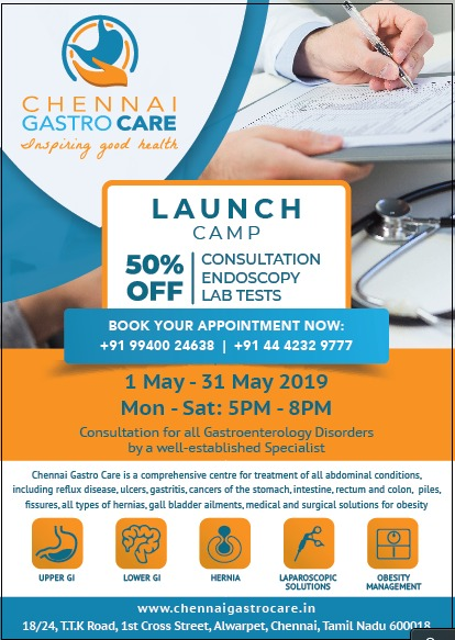 ChennaiGastroCare Launch Camp